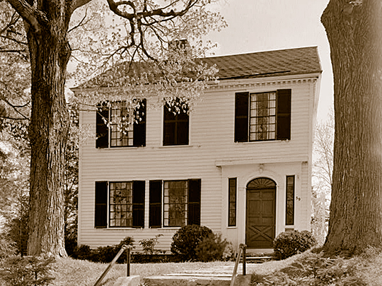 Dan Bradley House, ca. 1804, 59 South Street, Marcellus, NY, National Register