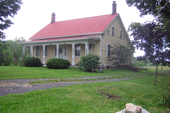 Kelsey-Davey Farm, ca. 1810, 1861 Old Seneca Turnpike, Skaneateles, NY, National Register