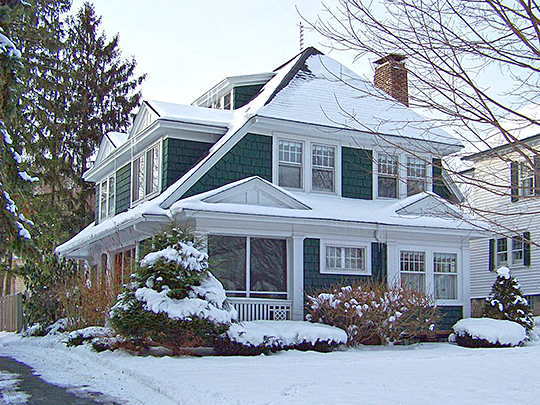 Ward House, ca. 1914, 100 Circle Road, Syracuse, NY