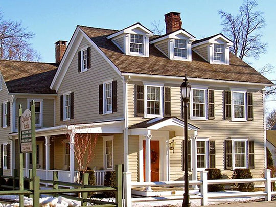Taylor-Corwin House, ca. 1840, 112 Maple Avenue, Pine Bush, NY. Also known as the Falconer Inn, National Register