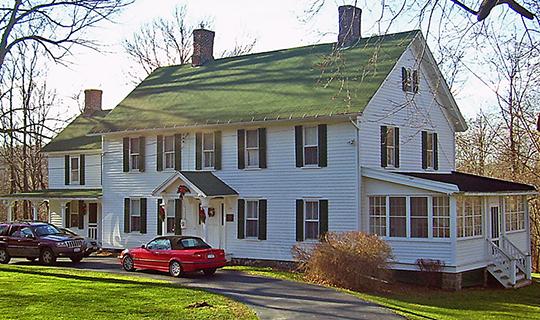 Everett-Bradner House, ca. lat 18th century, 156 South Street, Goshen, NY, National Register