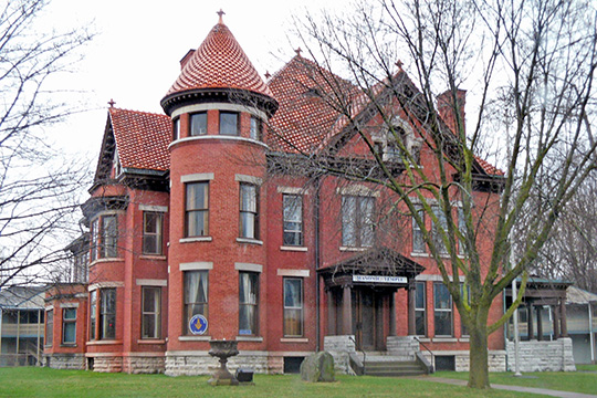Fairchild Mansion, ca. 1867, 318 Main Street, Oneonta, NY, National Register