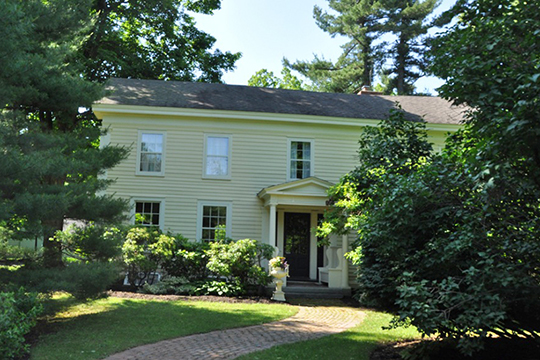 Blink Bonnie Home, ca. 1850, 1368 Sunset Road, Schodack, NY, National Register