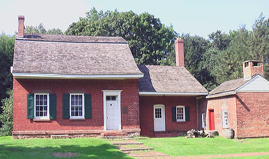 Jacob Blauvelt House, ca. 1834, 20 Zukor Road, New City, NY, National Register