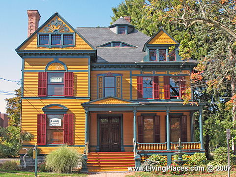 Verbeck House, National Register of Historic Places, Village of Ballston Spa, Saratoga County, New York