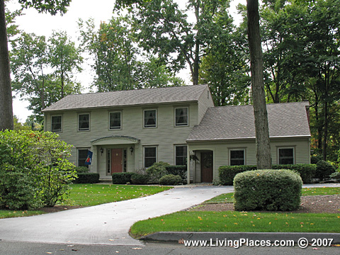 Applewood Estates neighborhood,  Town of Clifton Park, Saratoga County, New York