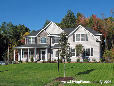 Fairway Woods neighborhood, Saratoga County, Town of Clifton Park, NY