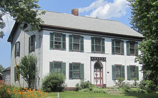 Nathan Garnsey House, ca. 1791, NY Route 146, Rexford, NY, National Register