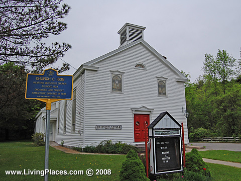 Rexford Historic Village, Saratoga County, Clifton  Park Town, NY