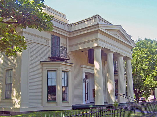 Marvin-Sackett-Todd House, ca. 1872, 4 Franklin Square, Saratoga Springs, NY, National Register