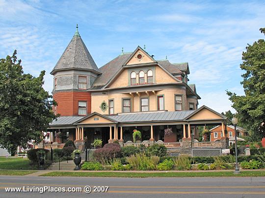 Union Avenue Historic District, Saratoga Springs, New York