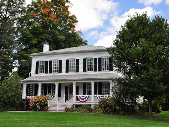 Lansing Manor House, ca, 1819, Blenheim, Schoharie County, NY, National Register