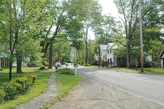 Main Street, Breakabeen Historic District, Middleburgh, NY, National Register