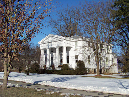 Bellinger-Dutton House, ca. 1846, 158 River Street, Middleburgh, NY, National Register