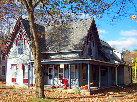 Potter-Van Camp House, ca, 1850, 4 West Washington Street, Bath, NY, National Register