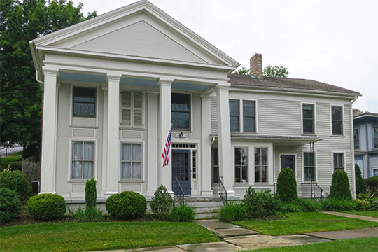John N. Hungerford House, West First Street, Corning, NY