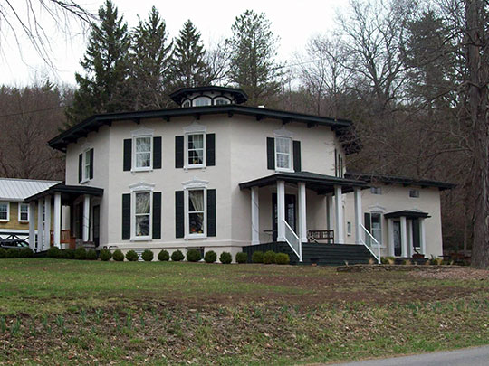 Timothy M. Younglove Octagon House, ca. 1859, 8329 Pleasant Valley Road, Urbana, NY, National Register