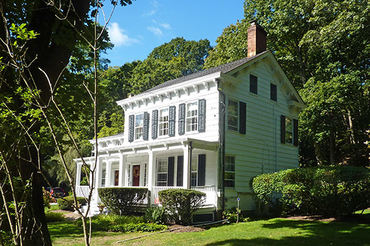 Titus-Bunce House, ca. 1820, 7 Goose Hill Road, Cold Spring Harbor, NY, National Register