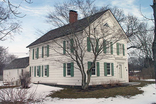 Stephen Sherrill Farmhouse, ca. 1857, 4 Fireplace Road, East Hampton, NY, National Register