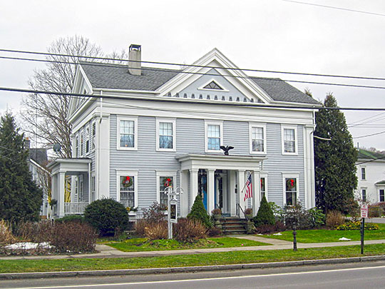 Lacy-Van Fleet House, ca. 1845, 45 West Main Street, Dryden, NY, National Register