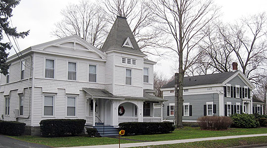 Homes in the Dryden Historic District, Dryden, Tompkins County, NY