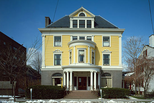 C.R. Williams House, ca. 1894, 306 North Cayuga Street, Ithaca, NY