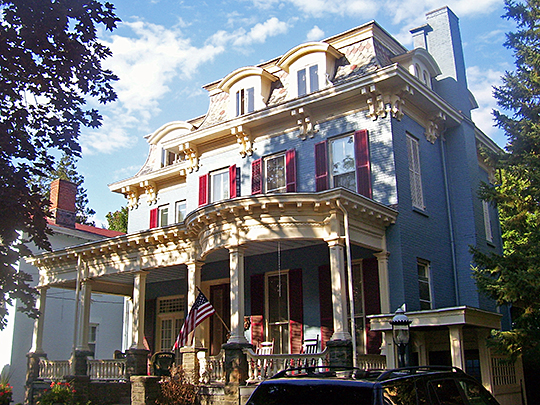 Chichester House, ca. 1870, 116 Fair Street, Kingston, NY, National Register