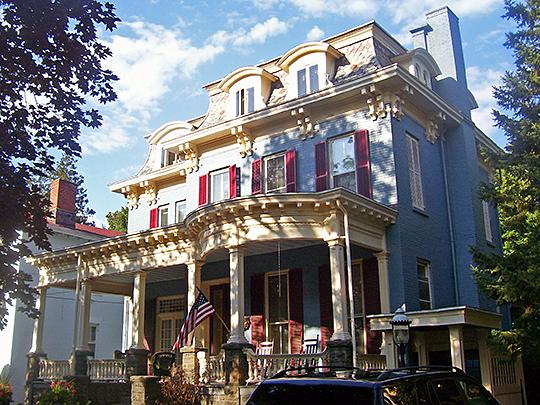 Chichester House, ca. 1870, 116 Fair Street, Kingston, NY, National Register
