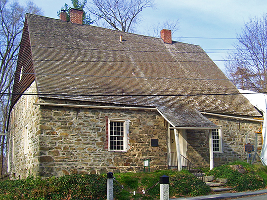 Jean Hasbrouck House, ca. 1721, Huguenot Street Historic District, New Paltz, NY, National Register