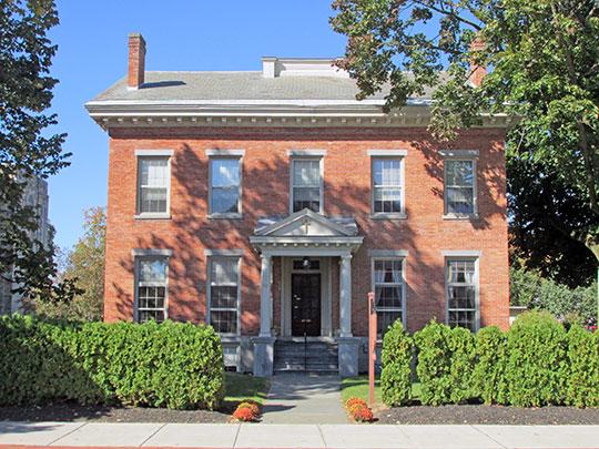 Enoch Rosekrans House, ca. 1855, 62 Warren Street, Glens Falls, NY, National Register