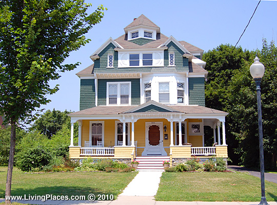 John E. Parry House, ca. 1890, 146 Warren Street, Glens Falls, NY, National Register