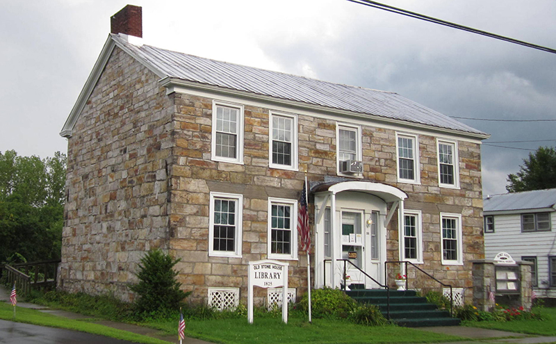 Old Stone House Library, ca. 1825, 36 George Street, Fort Ann, NY, National Register