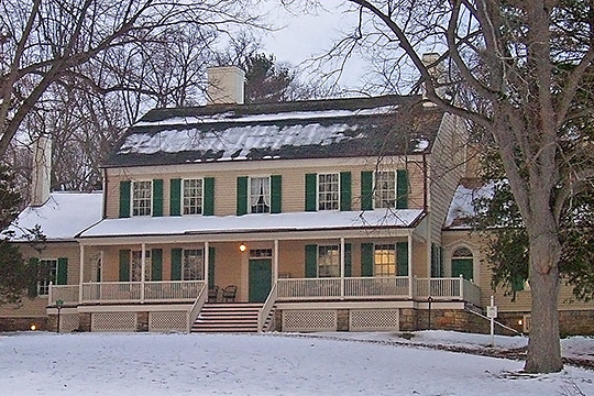 John J. Homestead, ca. 1787, Jay Street (State Route 22), Katonah, NY, National Historic Landmark