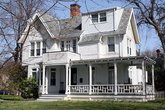 Home in the Irvington Historic District, Irvington, NY, National Register