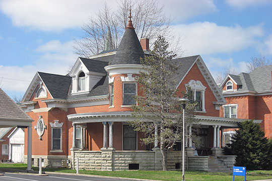 Marks Family House, ca. 1902, 233 North Franklin Street, Delphis, OH, National Register