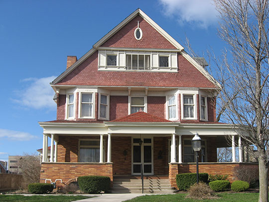 MacDonell House, ca. 1893, 632 West Market Street, Lima, OH, National Register
