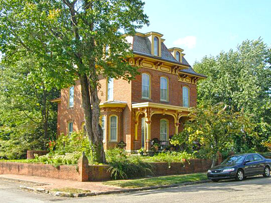 Philip J. Black House, ca. 1856, 303 North Water Street, Loudonville, OH, National Register