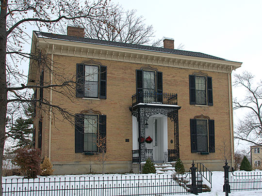 Anderson-Shaffer House ca. 1859, 404 Ross Avenue, Hamilton, OH.
