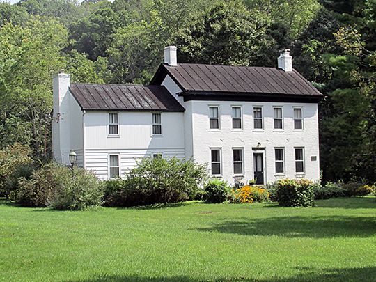 Gaskins-Malany House, ca. 1839, 726 Bradbury Road, Pierce Township, Clermont County, OH, National Register