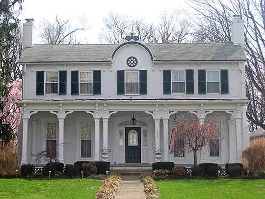 Doan House, ca. 1840, 822 Fife Avenue, Wilmington, OH, National Register