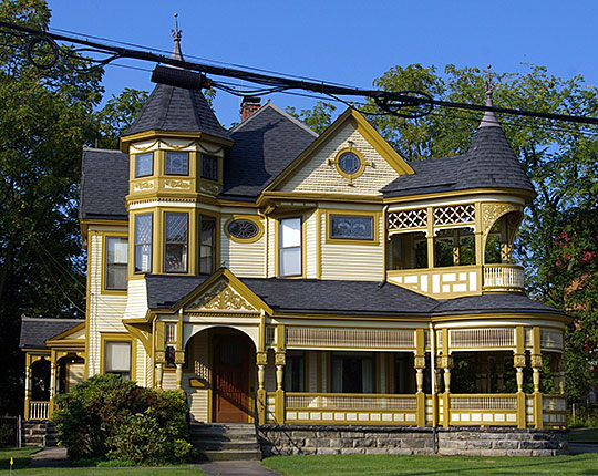 Holsey Gates House, ca. 1892, 762 Broadway, Bedford, OH, National Register