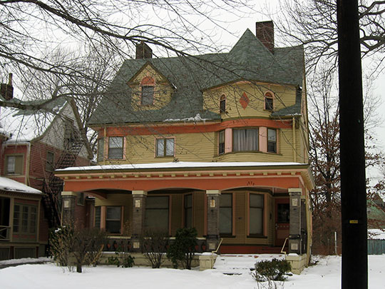 east 89th Street, 89th Street Historic District, Cleveland, OH, National Register