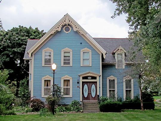 Erastus Day House, ca. 1920, 16807 Hilliard Road, Lakewood, OH, National Register