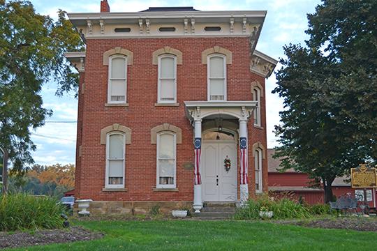 Clague House, ca. 1876, 1371 Clague Road, Westlake, OH, National Register