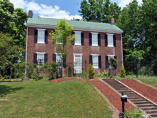 Samuel Bush House, ca. 1808, 1934 Cold Spring Drive, Lancaster, OH.