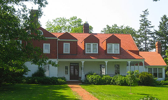 Whitelaw Reid House, ca. 1823, 2587 Conley Road, Cedarville, OH, National Register