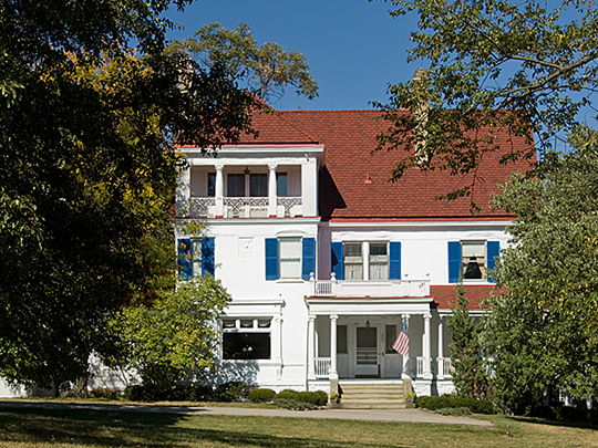 William Stearns House, ca. 1900, 320 Reily Road, Wyoming, OH, National Register