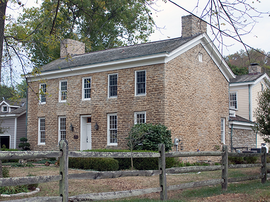 Elliott House, ca. 1802, 9352 Given Road, Indian Hill, OH, National Register