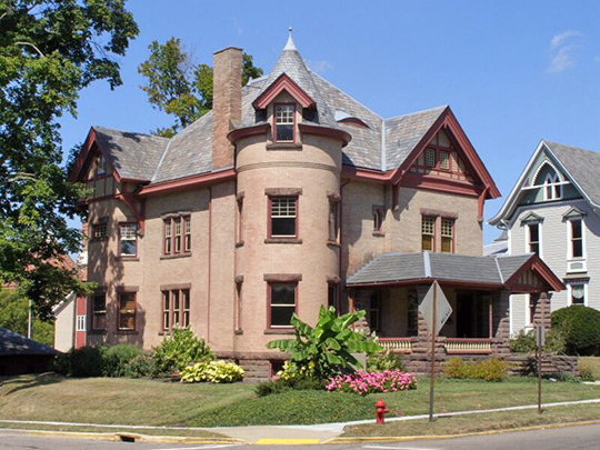 Hiram W. Cary House, ca. 1906, 101 North Clay Street, Millersburg, OH, National Register