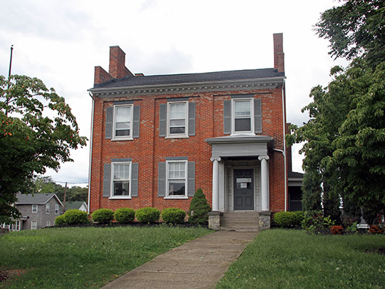 Lewis Morley House, ca. 1836, 231 North State Street, Painesville, OH, National Register